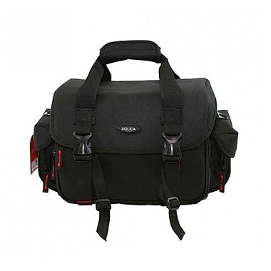 Dolica GS-300 Professional DSLR Camera Shoulder Case, Medium Size, Black