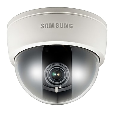 Samsung SCB-2080E High Resolution Varifocal Dome Camera, Ivory