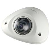 Samsung SNV-5010 HD Network Vandal-Resistant Flat Camera, Ivory