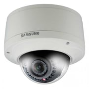 Samsung SNV-7080R Full HD Network Vandal Resistant IR Dome Camera, Ivory