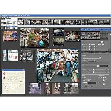 Canon VK-16 v2.2 Network Video Recording Software
