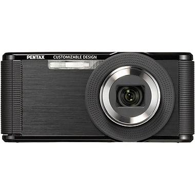 Pentax 1.83in. x 3.97in. x 0.88in. Optio LS465 Point and Shoot Digital Camera, 16 MP, Sapphire Black