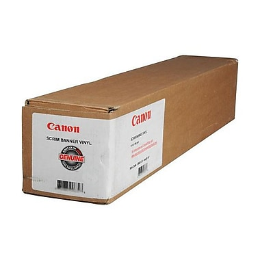 Canon 460gsm Scrim Banner Vinyl Paper Roll, 36in.(W) x 40'(L), 1/Roll