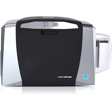 Fargo DTC1000 300 dpi 24 sec Single Sided ID Card Printer