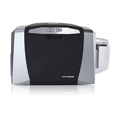 Fargo DTC1000 300 dpi 24 sec Dual Sided ID Card Printer For Mac