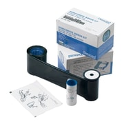 Datacard Dye Sublimation/Thermal Transfer Graphics Monochrome Ribbon Kit For SP75 Printer, Black HQ