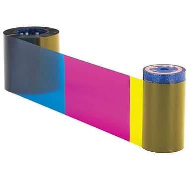 Datacard Dye Sublimation/Thermal Transfer Color Ribbon & Cleaning Kit For SP25 Printer, YMCKT