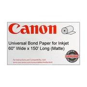 "Canon 90gsm Universal Bond Paper, Matte, 60""(W) x 150'(L), 1/Roll"