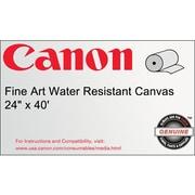 "Canon 400gsm Fine Art Water Resistant Canvas Paper, Matte, 36""(W) x 40'(L), 1/Roll"