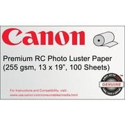 Canon 255gsm Premium RC Photo Paper, Luster, 13 x 19