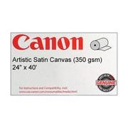 """Canon 350gsm Artistic Canvas Paper, Satin, 24""""(W) x 40'(L), 1/Roll"""