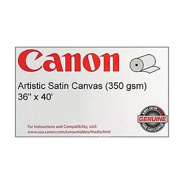 Canon 350gsm Artistic Canvas Paper, Satin, 36