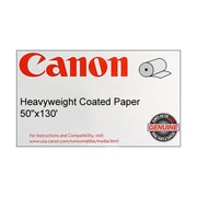 Canon 140gsm Heavyweight Coated Paper, Matte, 50(W) x 130'(L), 1/Roll