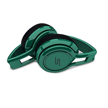 SMS Audio Street by 50 On-Ear Wired Earphones, Green
