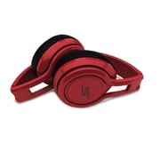 SMS Audio Street by 50 On-Ear Wired Earphones, Red