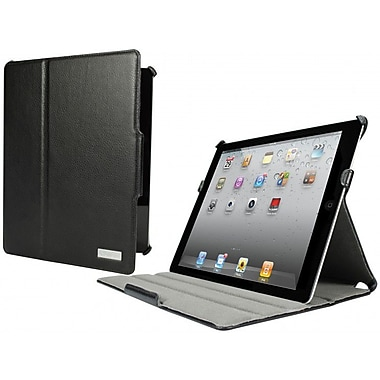 Cygnett Nailhead Fabric Armour Case For 3rd/4th Generation iPad, Black