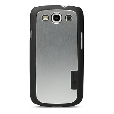 Cygnett UrbanShield Brushed Aluminium Case With Metal Cover For Samsung Galaxy SIII, Black