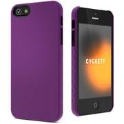 Cygnett AeroGrip Feel Snap-on Case for iPhone 5/5s, Purple