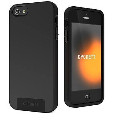 Cygnett SecondSkin Case for iPhone 5/5s, Black