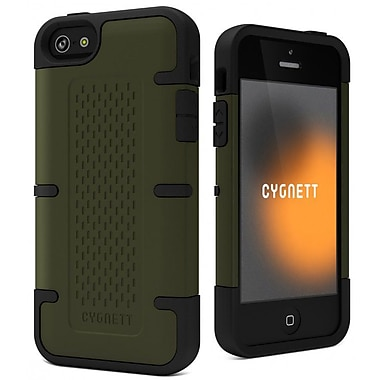 Cygnett Khaki WorkMate Shock-Absorbing Case for iPhone 5/5s, Green