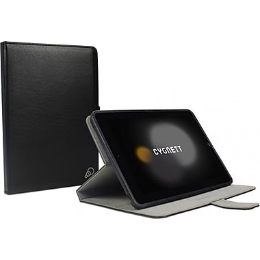 Cygnett Lavish Leather Folio Case Cover With Stand For iPad Mini, Black