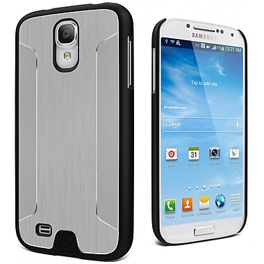 Cygnett UrbanShield Brushed Aluminum Metal Case For Samsung Galaxy S4, Black
