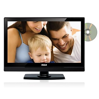 RCA 22in. Diagonal 1080p AV/DC LED HDTV With Built-In DVD player
