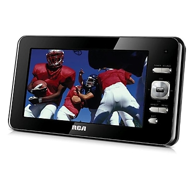RCA DPTM70R 480 x 234 7in. Widescreen LED ATSC Portable Digital TV, Black