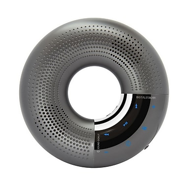 Digital Stream EMSDW1 Sound Donut Bluetooth Wireless Speaker, Gray