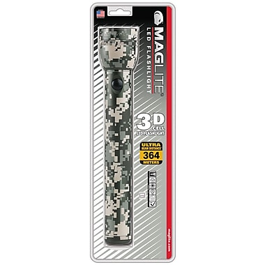 MAGLITE 9-10 Hour 3-Cell D Flashlight, Camo