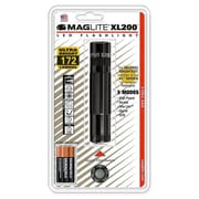 MAGLITE XL200 2.30-218 Hour 3-Cell AAA LED Flashlight, Black