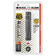 MAGLITE XL200 2.30-218 Hour 3-Cell AAA LED Flashlight, Gray