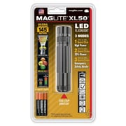 MAGLITE XL50 6.30-33 Hour 3-Cell AAA LED Flashlight, Gray