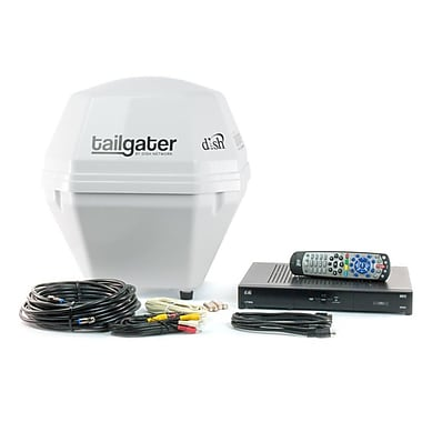 Dish Network VQ2510 Tailgater Portable Satellite Antenna with ViP 211k HD Receiver