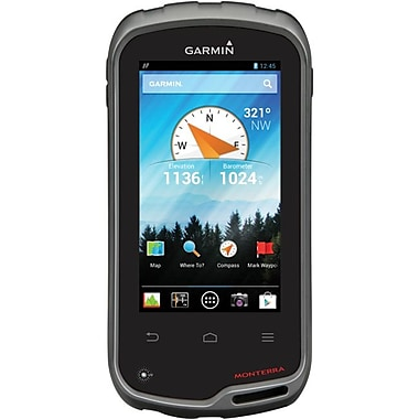Garmin Monterra Handheld GPS Navigator With Worldwide Basemap