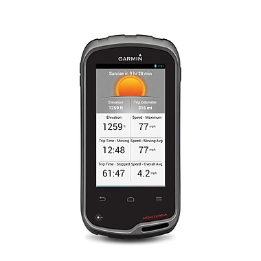 Garmin Monterra Handheld GPS Navigator With TOPO U.S. Maps