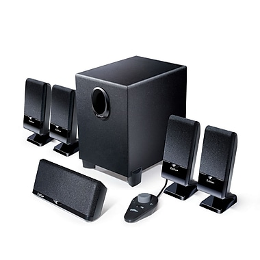 Edifier M1550 5.1 mini Home Theater Speaker System, Black