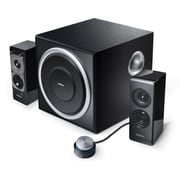 Edifier S330D 2.1 Multimedia Audio Speaker System, Black