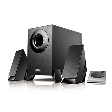 Edifier M1360 2.1 Multimedia Audio Speaker System, Black