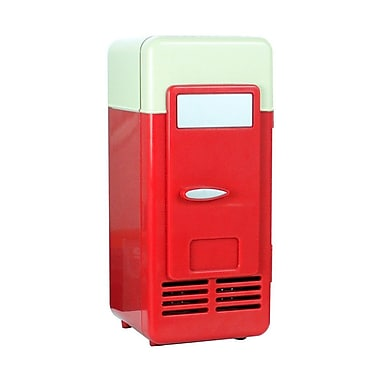 Dream Cheeky Seconds Cooling Mini Fridge, Red