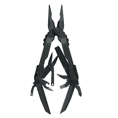 Gerber Diesel Black Stainless Steel Needlenose Multi-Plier, 4.92