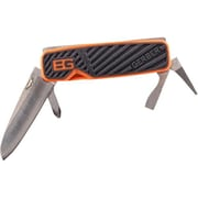 "Gerber Bear Grylls Orange/Black Pocket Tool, 3.2"" Closed"