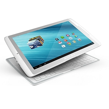 Archos Gen10 XS Series 10.1 16GB Android Tablet With Keyboard, White