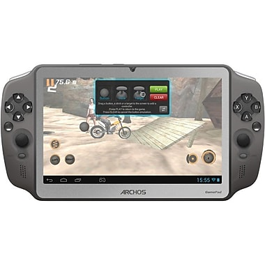 Archos Themed Series GamePad 7in. 8GB Gaming Tablet, Silver