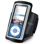 iLuv ICC213 Light Weight Armband for Apple iPod Nano 4th/5th Gen, Black