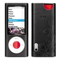 iLuv® ICC312 Leather Case With Flame Pattern For iPod Nano 5th Gen