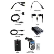 Naxa NI-3214 10-in-1 Accessory Kit for Apple iPod/iPhone, Black