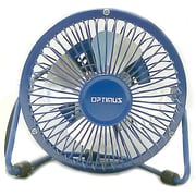"Optimus F-4040 4"" Personal Metal Fan, Blue"