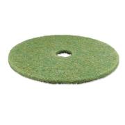 "3M™ 20"" TopLine Autoscrubber Pad 5000, Green/Amber"