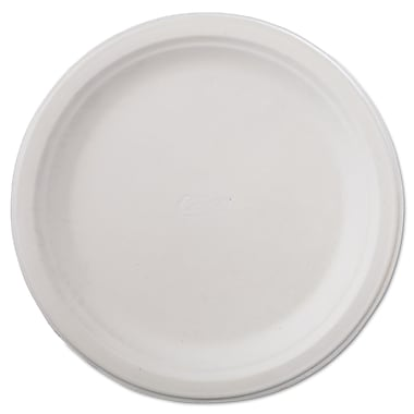 Chinet® Huhtamaki 9 3/4in. Recycled Round Paper Plate, White